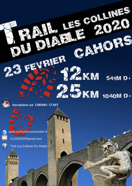 Trail collines du diable 2020