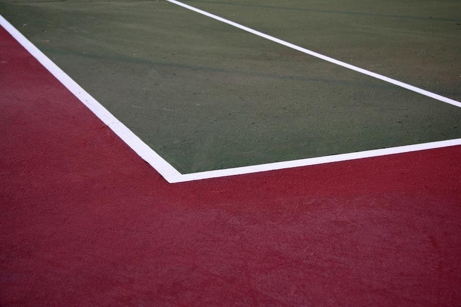 tennis terrain