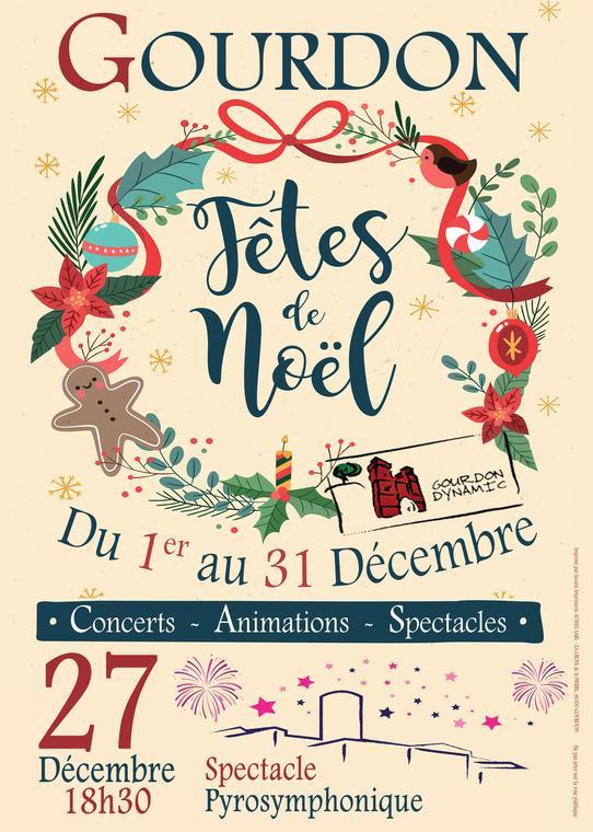 Affiche Noël 2019