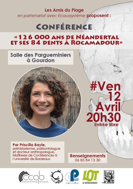 Affiche Conférence  P. Bayle