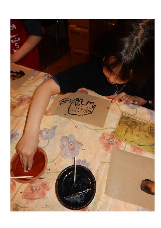 Atelier artistique enfant Carennac 2