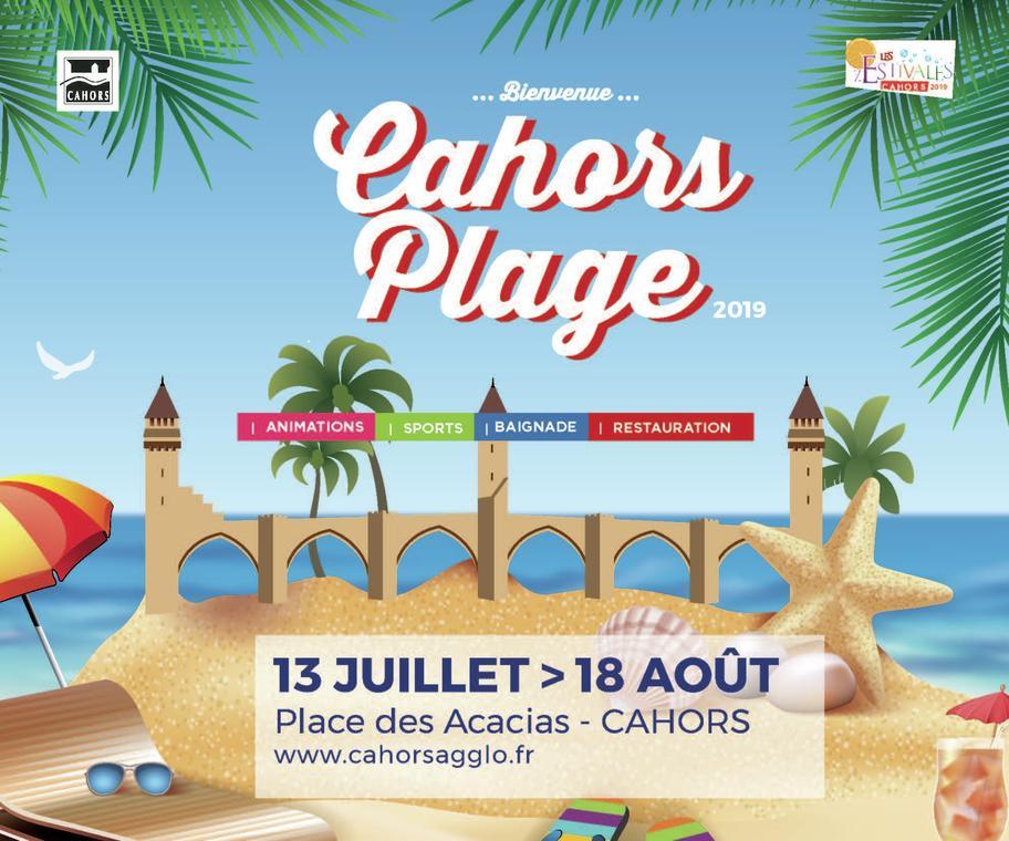 Cahors plage 2019