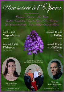 Concert Château de Vaillac 2018