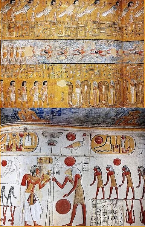 Egypte Ancienne livre funéraire