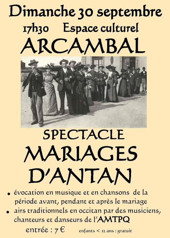 spectacle arcambal