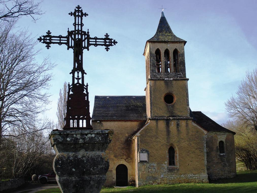 Lavercantière : Église Saint-Martin-le-Désarnat