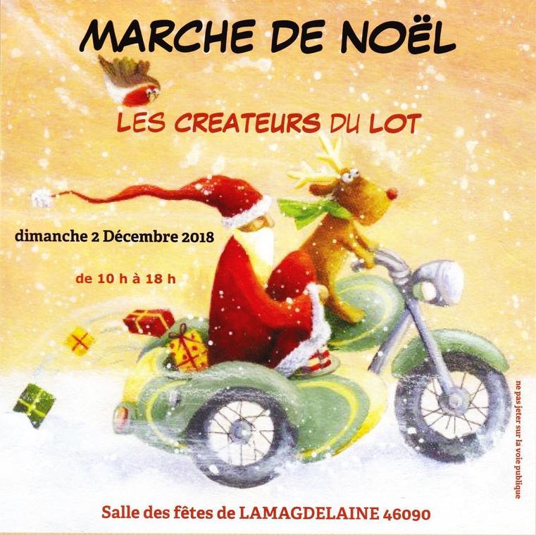 Marché Noel Lamagdeleine 2 dec