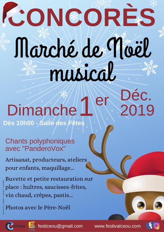 Marché de Noël Concorès 2019