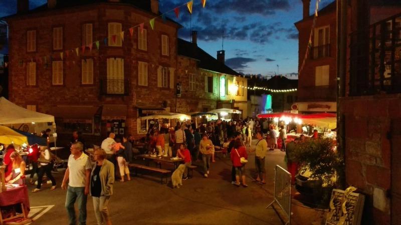 Marchés Nocturnes-Mairie Meyssac