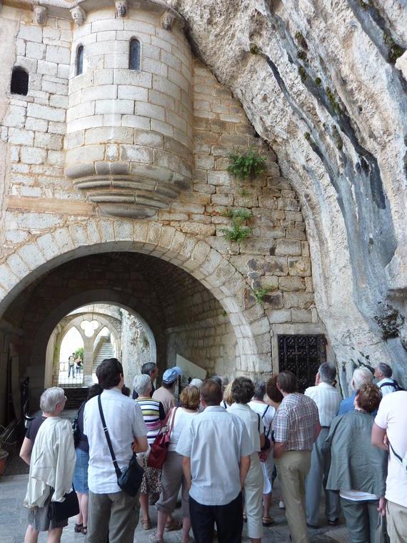 PAHVDL - Visite guidée à Rocamadour