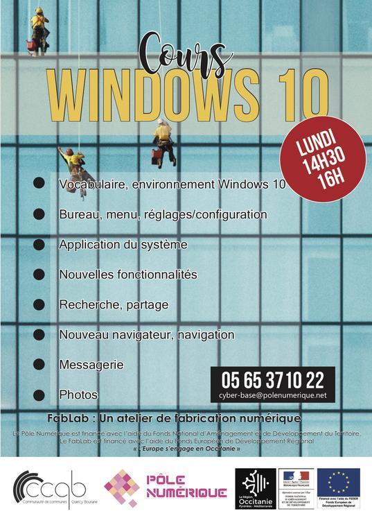 PN - Affiche Atelier Windows10 2019
