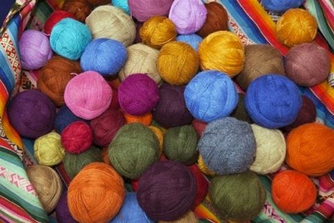 Pelotes de laines