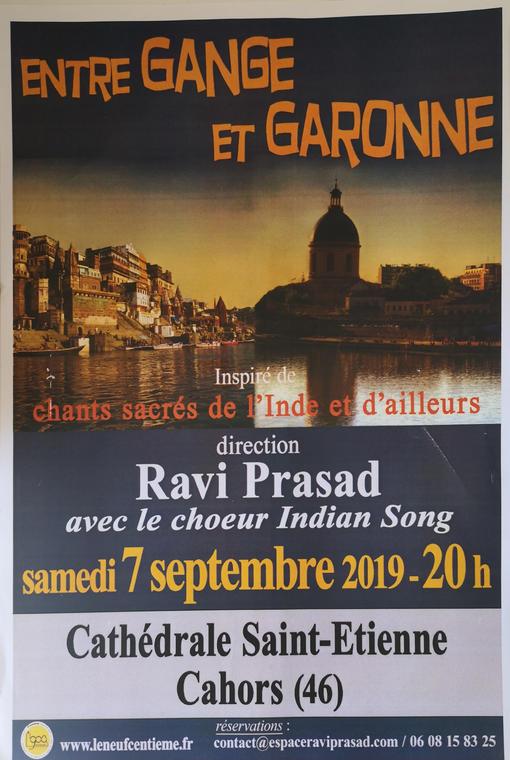Concert entre Gange et Garonne