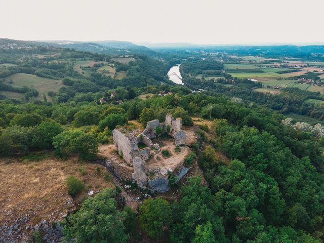 Ruine de taille fer