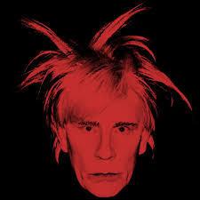 Self Portrait - Andy Warhol, Pop Life Exhibition, Tate Modern, London