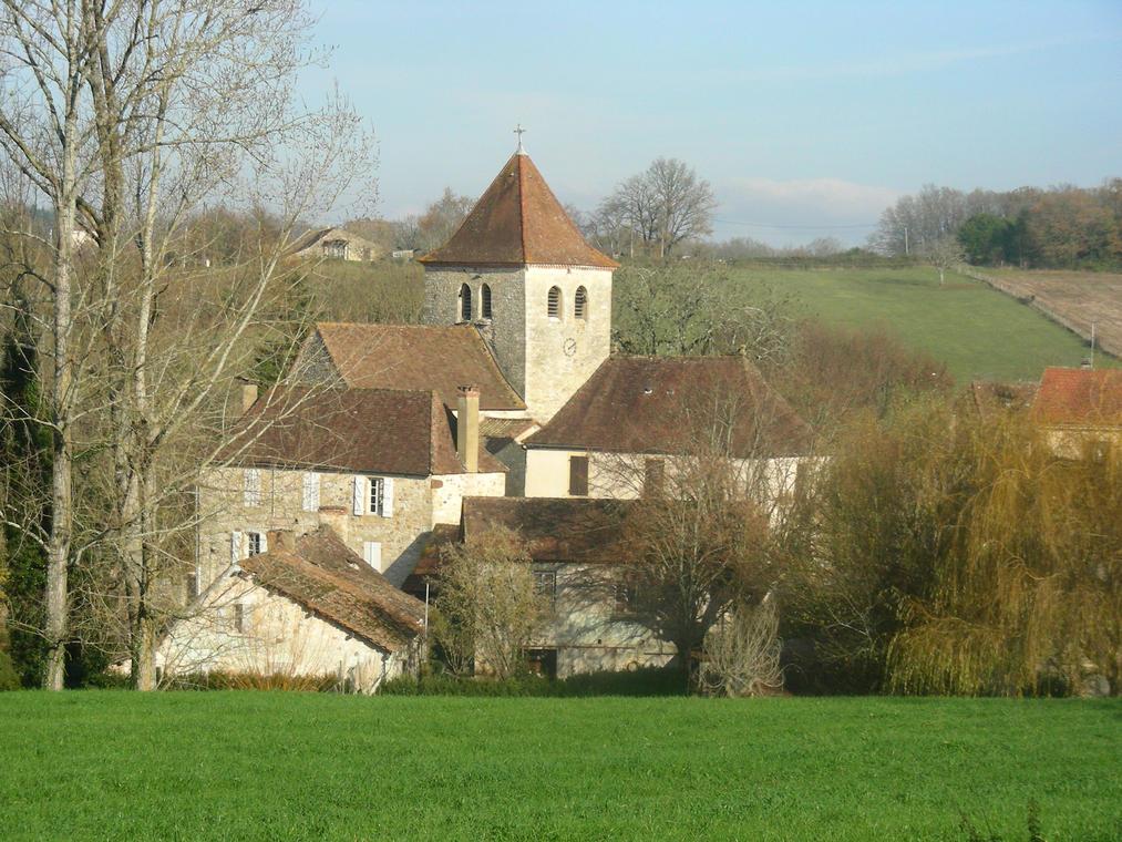 St Cirq Souillaguet village