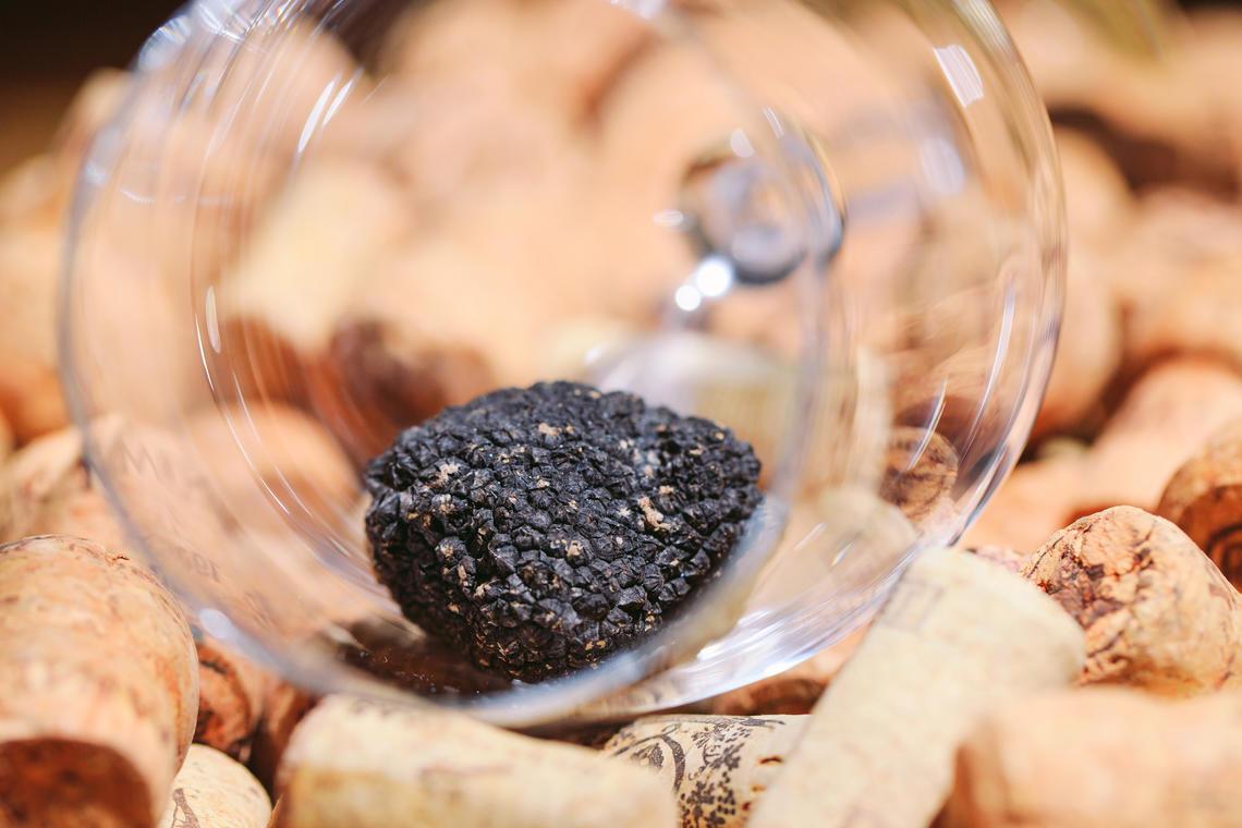 truffes et vins
