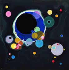 Vasily Kandinsky Several Circles - Guggenheim Museum
