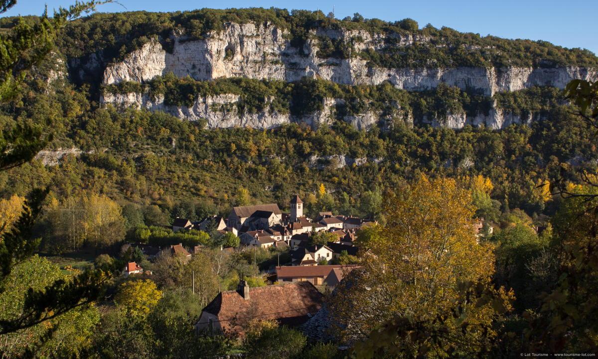 Marcilhac-sur-Célé - Vue sur le Village