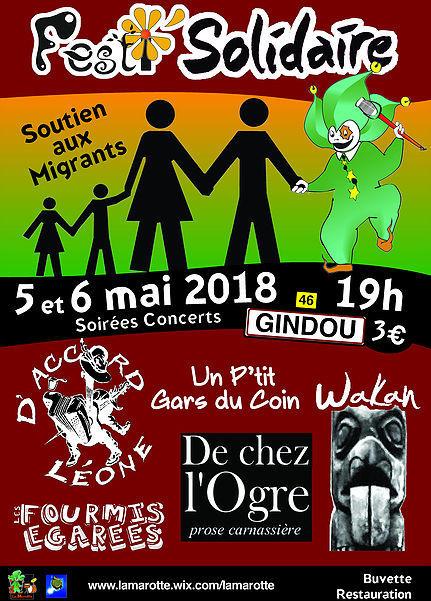 affiche Festi Solidaire