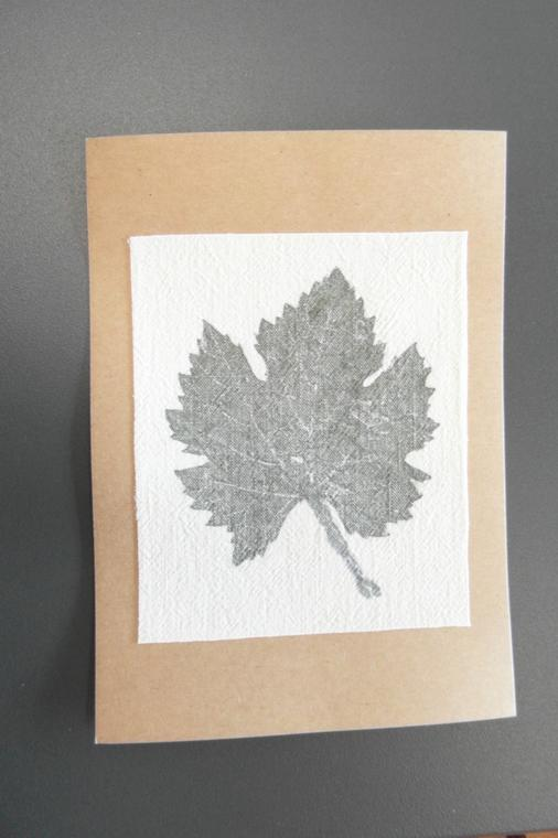 atelier impression végétale sur textile