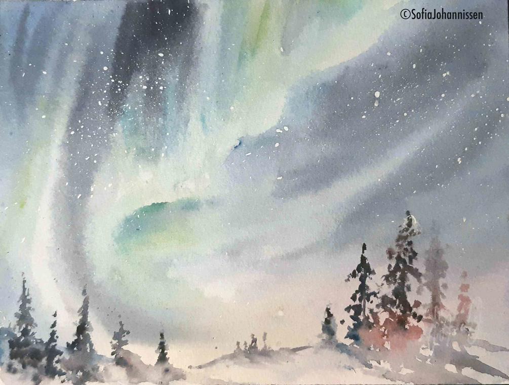 aurore boréale©Sofia Johannissen