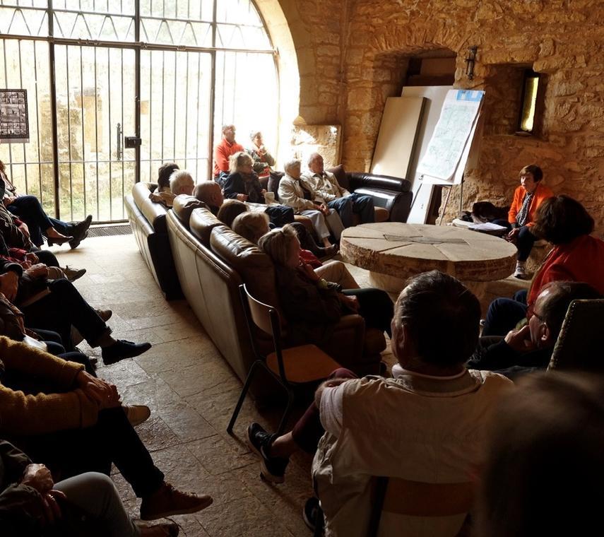 conférence au château ©JP Galano
