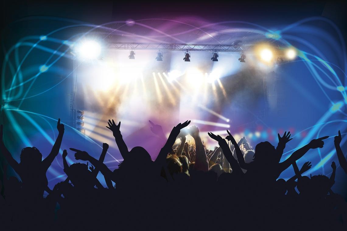 disco concert