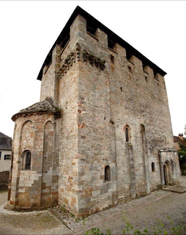 église St Pierre Toirac photo Nelly Blaya Conseil général du Lot