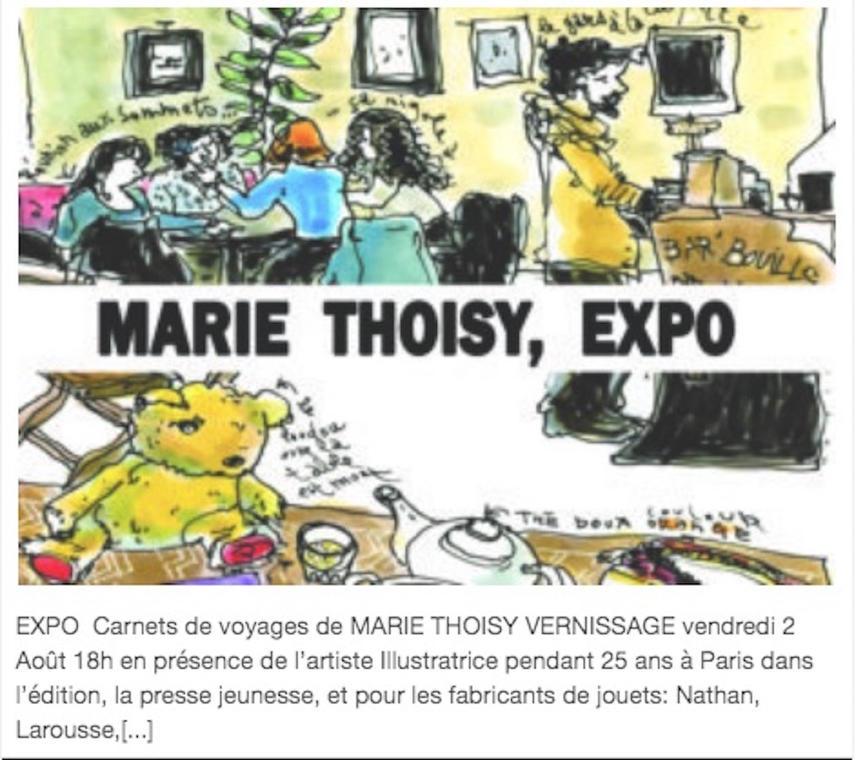 exposition marie Thoisy