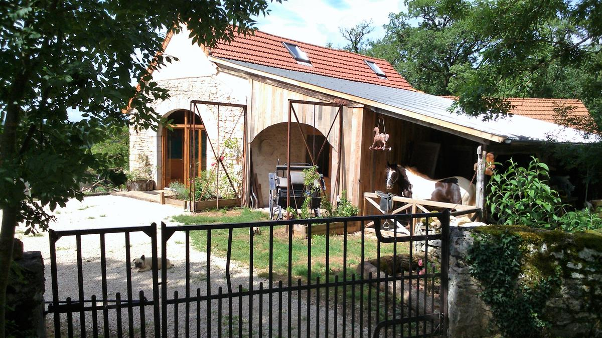 Gite le cheval qui bêle - Sauliac sur Célé