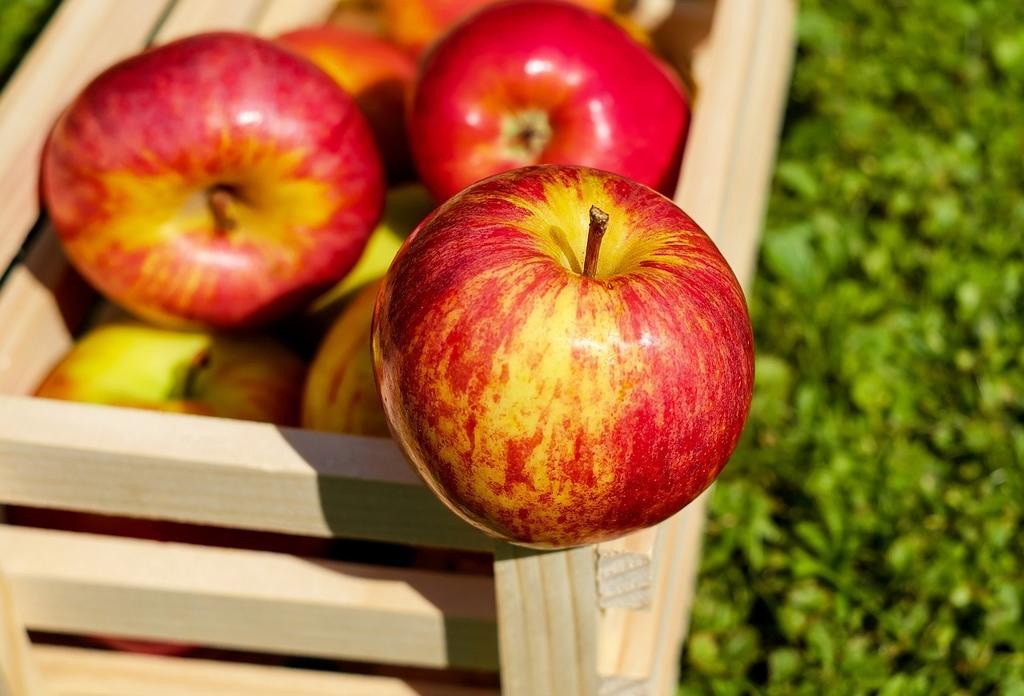 pommes rouges©Pixabay