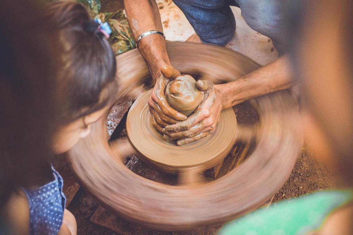 poterie tournage enfants ©Pexels - Pixabay