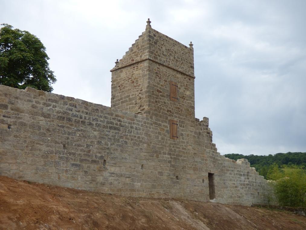 remparts figeac tour sud