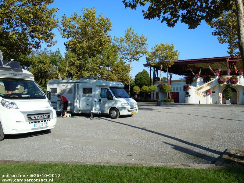aire camping car pomarez