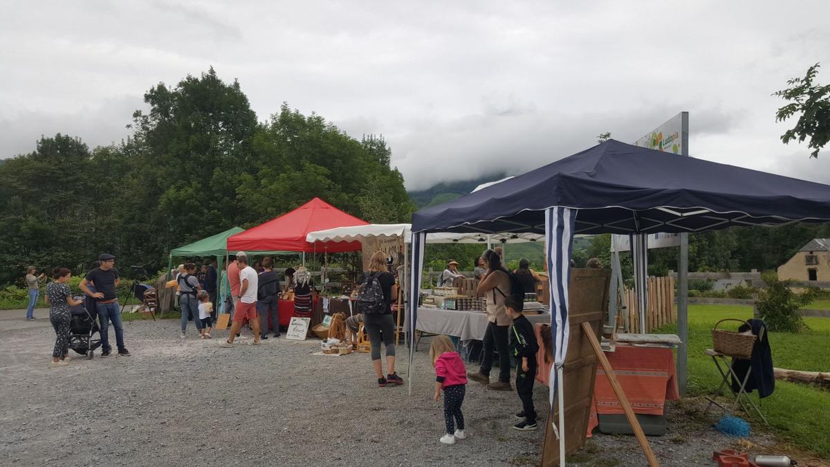 Marché de producteurs Esprit Parc à Ludopi