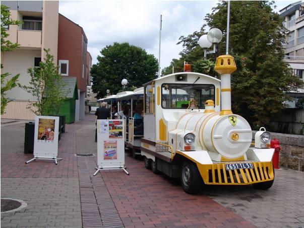 Petit train touristique - Châlons-en-Champagne
