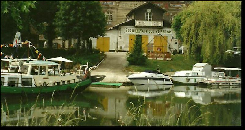 Relais Nautique : Capitainerie - Epernay