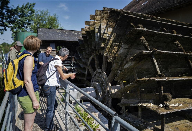 Visite du moulin de la Bruère