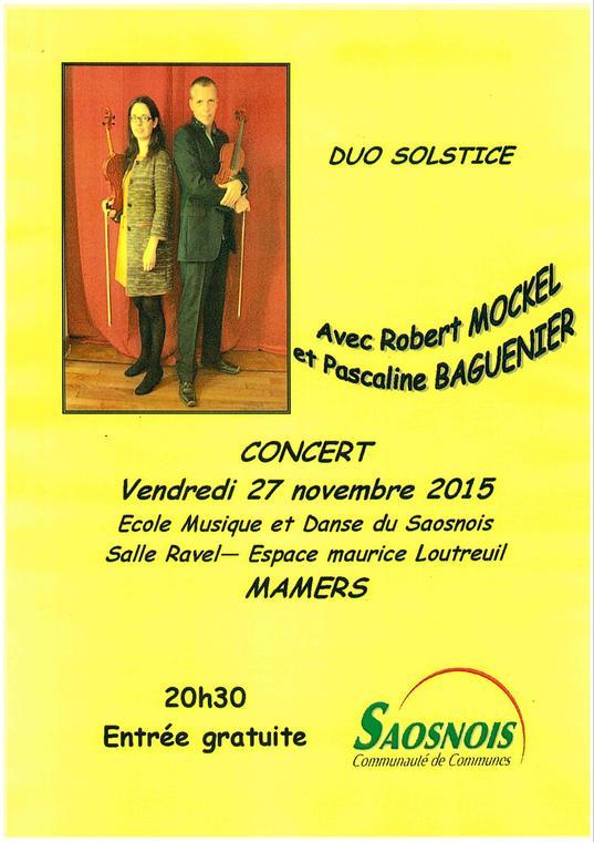 Concert 27-11 ecole musique