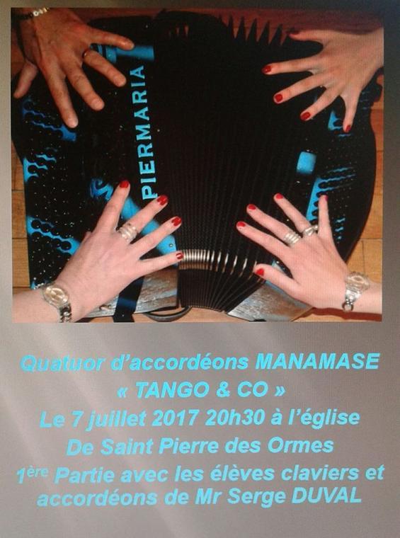 Concert de St Pierre des Ormes 7 juillet 17