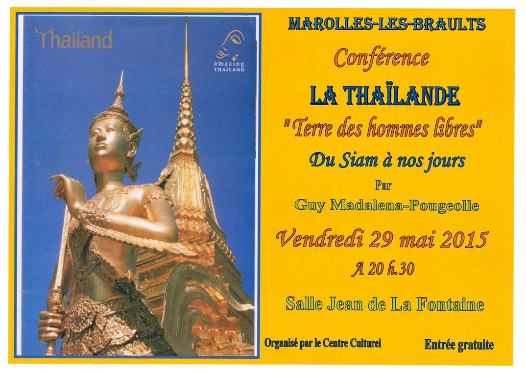Conférence Thaïlande Marolles