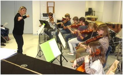 FAM49 Ecole musique Baugé