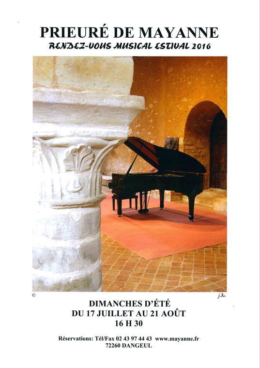 Festival prieuré de Mayanne
