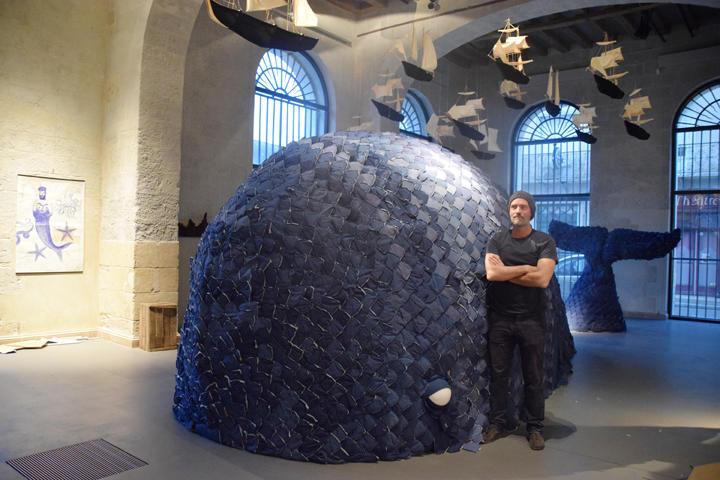 Julien Jaffré invite dans le monde marin avec son exposition De profundis