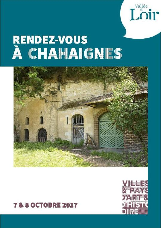 RDV Chahaignes 7 8 octobre 2017 flyer
