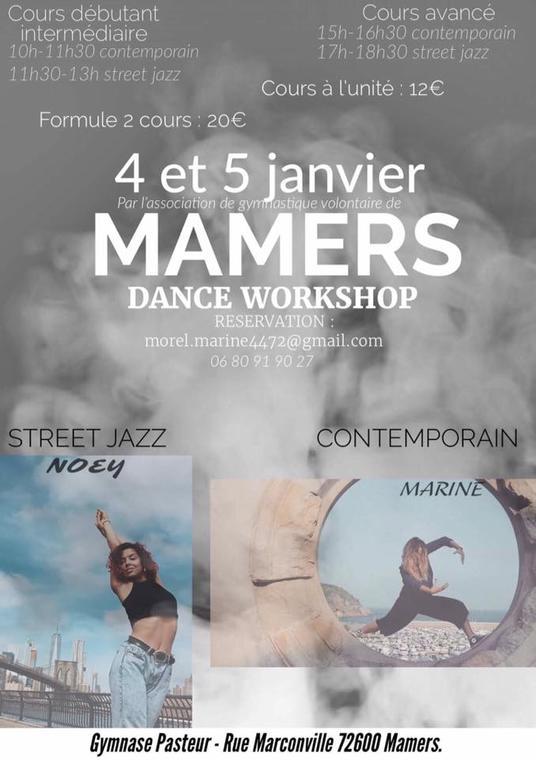 Stage danse Marine Morel