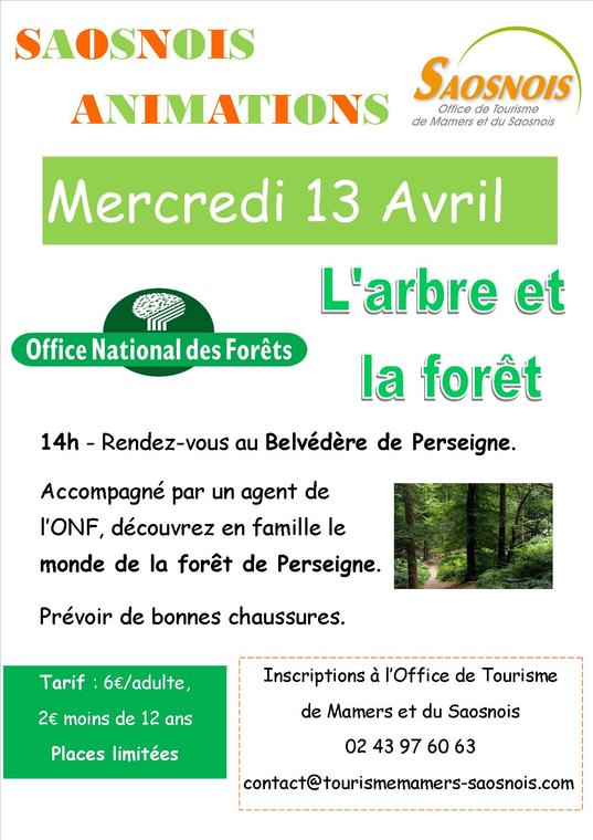 Sortie ONF 16 avril