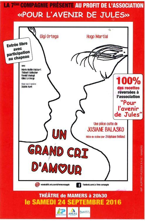 Théâtre Un gd cri d'amour
