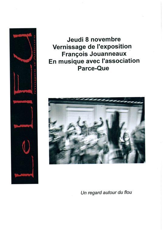 Vernissage de l'exposition de François Jouanneaux en musique avec l'association Parce-Que